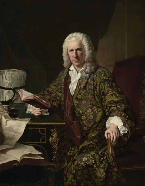 Portrait of Marc de Villiers | Jacques AndrE Joseph Aved | Oil Painting
