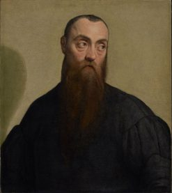 Portrait of a Bearded Man | Jacopo Bassano | Oil Painting