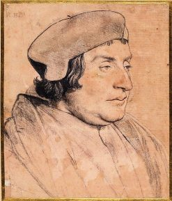 Portrait of a Scholar or Cleric | Hans Holbein the Younger | Oil Painting