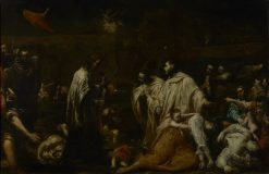 Bernard Tolomei and the Plague in Siena | Giuseppe Maria Crespi | Oil Painting