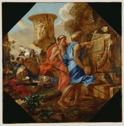 Arcadian Shepherds | Giovanni Castiglione | Oil Painting