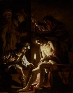 Christ Crowned with Thorns | Gerard van Honthorst | Oil Painting