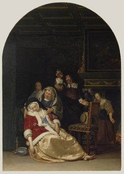 Doctor's Visit | Frans van Mieris the Elder | Oil Painting