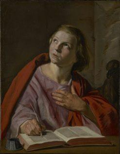 Saint John the Evangelist | Frans Hals | Oil Painting