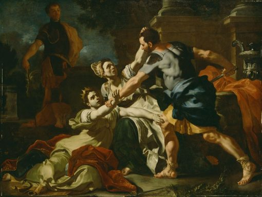 Death of Messolina | Francesco Solimena | Oil Painting