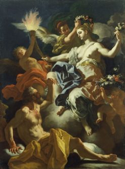 Aurora Taking Leave of Tithonus | Francesco Solimena | Oil Painting