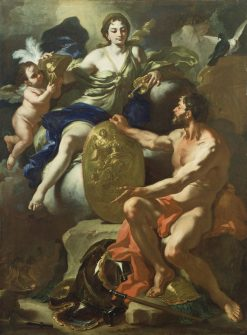 Venus at the Forge of Vulcan | Francesco Solimena | Oil Painting