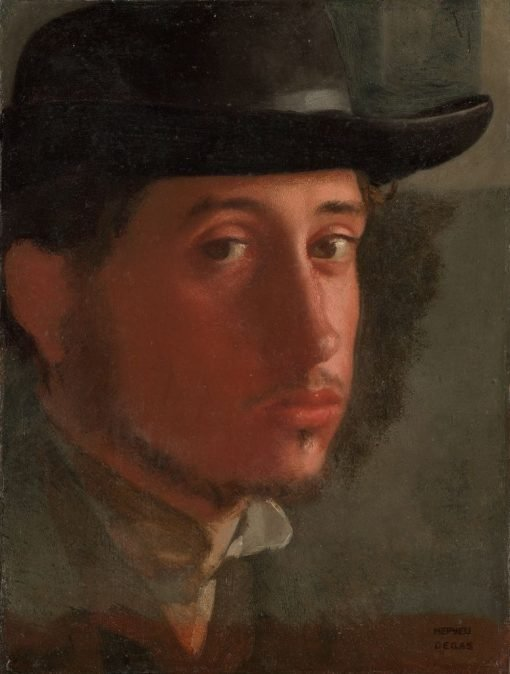 Self Portrait | Edgar Degas | Oil Painting