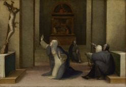 Saint Catherine of Siena Receiving the Stimata | Domenico Beccafumi | Oil Painting