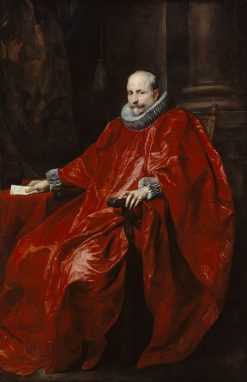 Portrait of Agostino Pallavicini | Anthony van Dyck | Oil Painting