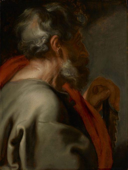 The Apostle Simon | Anthony van Dyck | Oil Painting