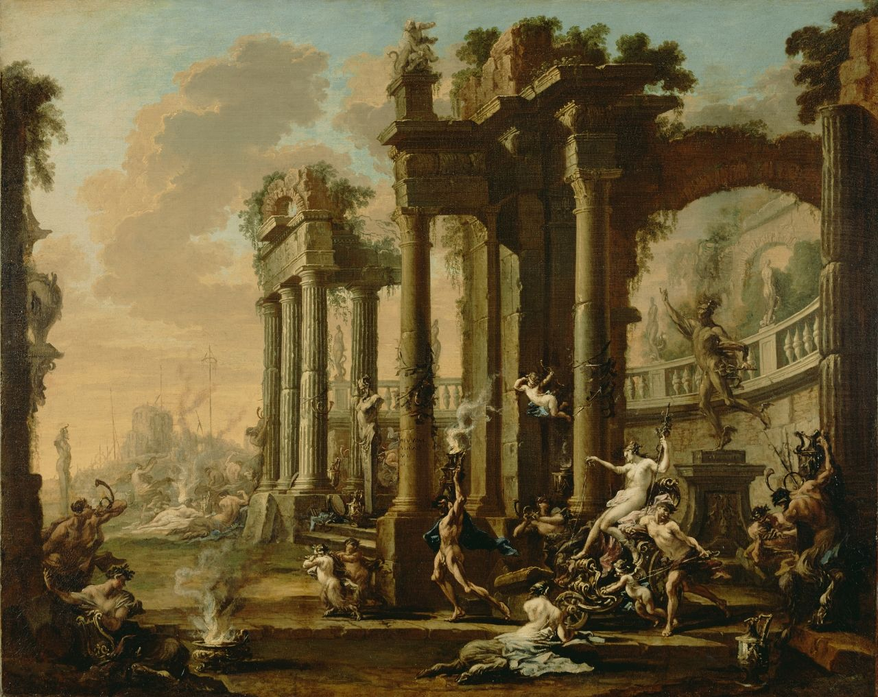The Triumph of Venus | Alessandro Magnasco | Oil Painting