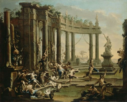 Bacchanale | Alessandro Magnasco | Oil Painting