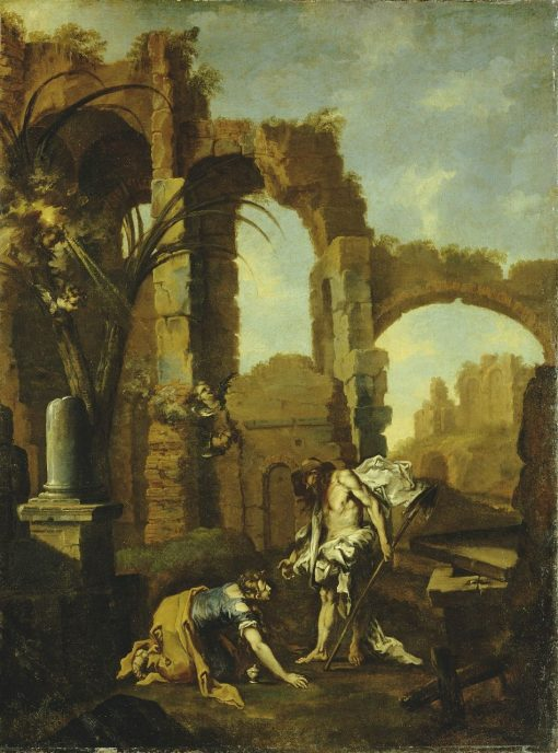 Noli me Tangere | Alessandro Magnasco | Oil Painting