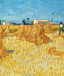 Harvest in Provence | Vincent van Gogh | Oil Painting