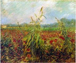 Green Corn Stalks | Vincent van Gogh | Oil Painting