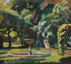 The Ornamental Garden of No. 7 Dalmeny Avenue | Roger Eliot Fry | Oil Painting