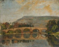 A Bridge on the Rhine | Bernard Sickert | Oil Painting