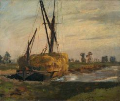 The Hay Boat | Bernard Sickert | Oil Painting