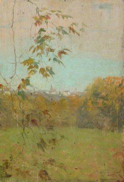 Distant Dinan | Bernard Sickert | Oil Painting