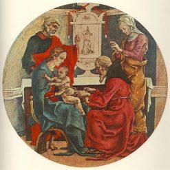 Circumcision (Predella from the Roverella Altarpiece)   Cosme Tura   Oil Painting