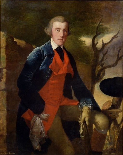 Edward Becher Leacroft of Wirksworth | Joseph Wright of Derby | Oil Painting