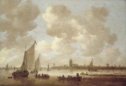 View of Dordrecht | Jan van Goyen | Oil Painting