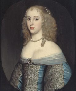 Elisabeth van Nassau-Beverweerd (ca.1635-1718) | Gerard van Honthorst | Oil Painting