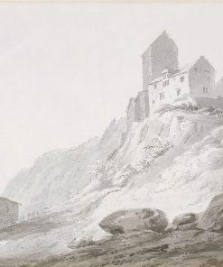South Gate of Sargans | Thomas Girtin | Oil Painting