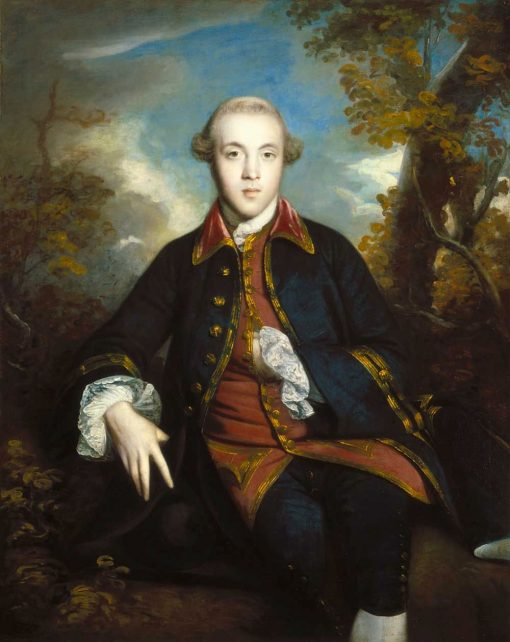 Charles Brandling | Sir Joshua Reynolds | Oil Painting