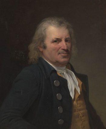 Portrait of an Elderly Man | Robert Lefevre | Oil Painting