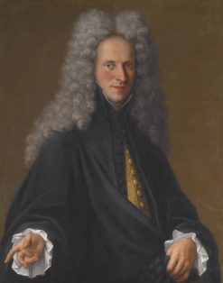 Portrait of an Unknown Nobleman | Pietro Longhi | Oil Painting
