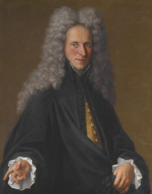 Portrait of an Unknown Nobleman   Pietro Longhi   Oil Painting