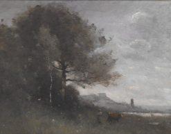Souvenir d'Italie | Jean Baptiste Camille Corot | Oil Painting