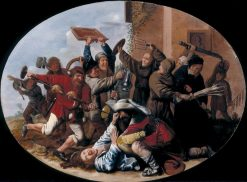 Battle between Carnival and Lent | Jan Miense Molenaer | Oil Painting