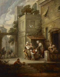Charity Relieving Distress | Gainsborough Dupont | Oil Painting