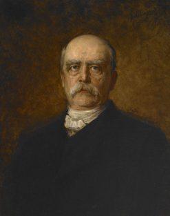 Portrait of Otto Eduard Leopold von Bismarck | Franz von Lenbach | Oil Painting