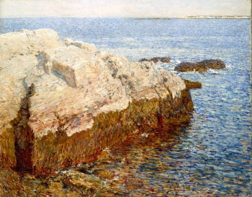 Cliff Rock - Appledore | Childe Hassam | Oil Painting