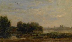 On the Oise | Charles Francois Daubigny | Oil Painting