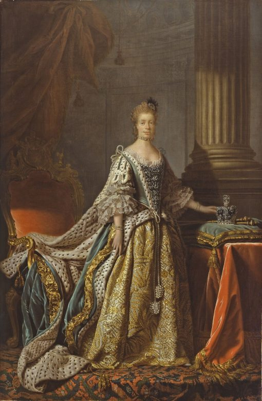 Queen Charlotte | Allan Ramsay | Oil Painting