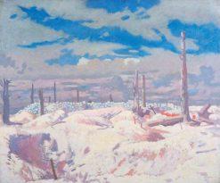 The Schwaben Redoubt | Sir William Orpen | Oil Painting