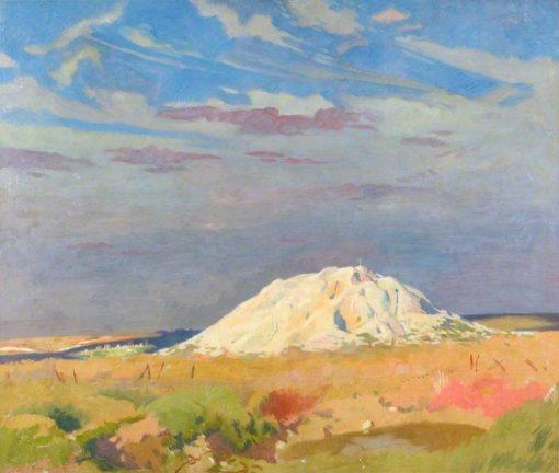 The Butte de Warlencourt   Sir William Orpen   Oil Painting