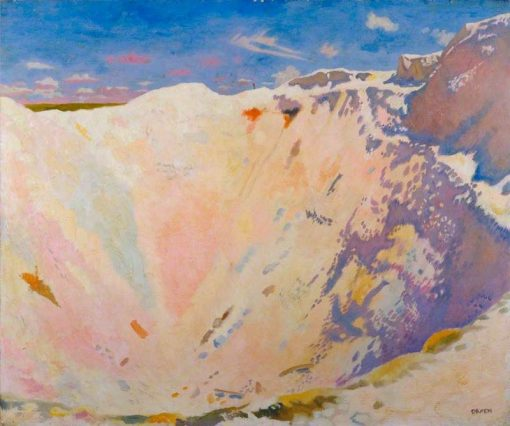 Inside a Small Mine Crater   Sir William Orpen   Oil Painting