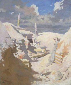 A Gunner's Shelter in a Trech