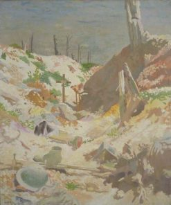 A Grave in a Trench | Sir William Orpen | Oil Painting