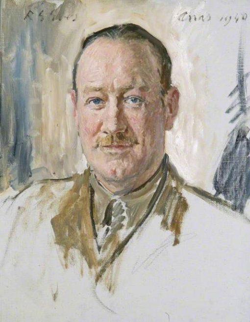 Major C Tremayne MC and Bar | Reginald Grenville Eves | Oil Painting