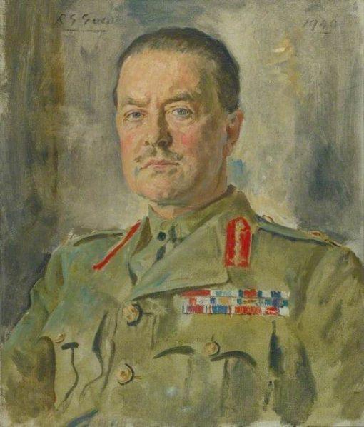Lieutenant General The Honourable H R Alexander CB