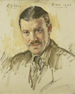 Captain Arthur William Milborne-Swinnerton-Pilkington | Reginald Grenville Eves | Oil Painting
