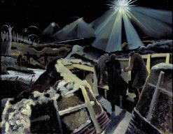 The Ypres Salient at Night | Paul Nash | Oil Painting