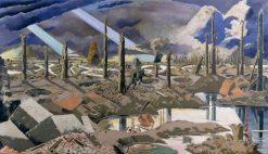 The Menin Road | Paul Nash | Oil Painting
